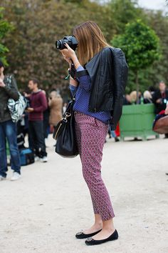 mixed prints @ The Sartorialist