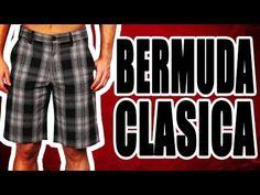 Patrón de costura: Bermuda para hombre - YouTube
