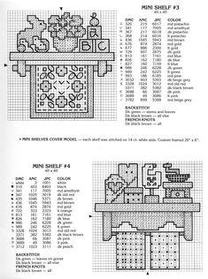 Patrones punto de cruz (solo country) (pág. 34)   Aprender manualidades es facilisimo.com