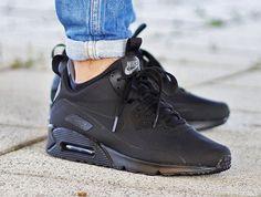 Nike Air Max 90 Mid Winter Black