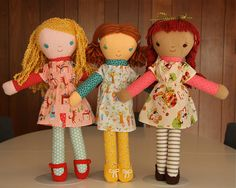 Maisie, Midge and Mabel by Hillary Lang, via Flickr