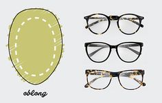 Oblong Shaped Face / The only Face Shape Guide you need to find the perfect pair of glasses for you http://milk-eyewear.tumblr.com/post/130147874082/to-know-face-shape-guide-find-your-finest