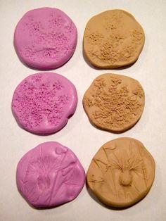 #DIY Mini Tutorial ~ Wildflower Molds for Bead Making - Christie Friesen - no blogue Art Jewelry Elements