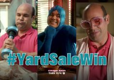 """What's the point of having a yard sale if you can't mock the low-lifes that shop there?"" - Ellie #YardSaleWin"