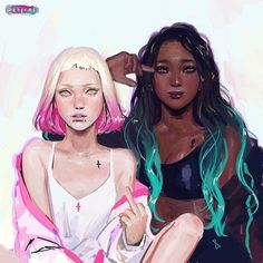 Fan-Art: Splatoon 2 - realistic Pearl and Marina Well that's certainly an interesting take on Pearl and Marina. I always love seeing when people take a unique approach to characters. I'd say this fits in with unique! from GoNintendo Video Games