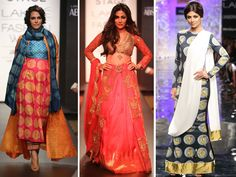 Fashion week without celebrity showstoppers is like macaroni without cheese. And we do like our cheese now, don't we?  Bollywood celebrities completed the dish we call Fashion Week, walking the ramp for their favourite designers. From Masaba to Anju Modi to Anavila Mishra, all opted to have celebrity showstoppers for their sassy collections.  This winter-festive season we also saw some new faces that made heads turn. We list fab celebs who made us sit up and take notice at Lakme Fashion ...