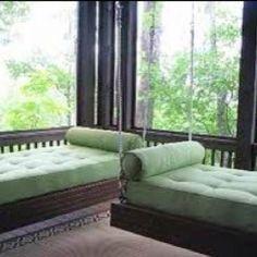 swinging beds
