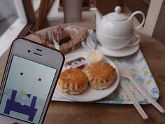 The sweetest tea time.   Yumchaa Teas Soho/ London, UK