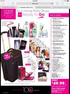 Avon Home Party Kits!!!