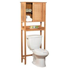 you can go for shorter wider floor cabinets in a small bathroom or tall