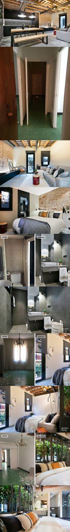 De viejo apartamento a hogar con estilo agradable / http://www.dromliving.com/
