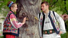Romanian traditional costumes Part 1 Port national Romanian Men, Folk Costume, Costumes, Young Frankenstein, Mens Fashion Wear, Girl Couple, Vogue Knitting, Day Book, My Heritage