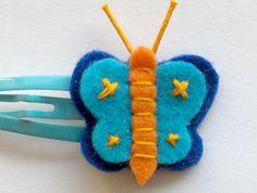 Borboleta Roleta   Gancho de feltro com aplicação de cordão …   Carla M. (Birra de Sono)   Flickr