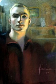 Self-portrait - Rolf Amstrong