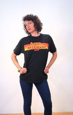 Retro McDonald's T-shirt Fast Food Tshirt by MorningGlorious