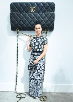 Katy Perry at Chanel Spring 2014