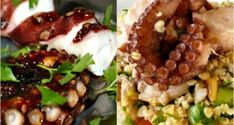 αμυγδαλωτά απ' την Τήνο με μανταρίνια Χίου - Pandespani.com Pinterest Recipes, Baked Potato, Seafood, Cooking Recipes, Baking, Ethnic Recipes, Tips, Cakes, Sea Food