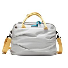 "Y.U.M.C. Satchel 13"" Silver, $65, now featured on Fab."