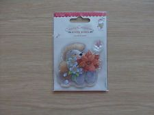 Clear Christmas Stamp Set ( Hedgehog with Poinsettia )