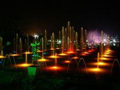 Brindavan Gardens, Mysore by Velachery Balu, via Flickr