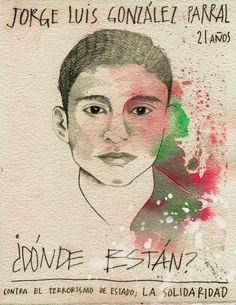 Jorge Luis González Parral #ilustradoresconAyotzinapa