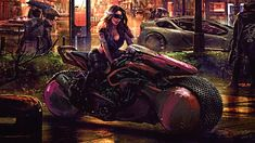 Cyberpunk 2077 is an upcoming action role-playing video game developed and published by CD Project. It is scheduled to be released for Microsoft Windows, PlayStation 4, PlayStation 5, Stadia, Xbox One, and Xbox Series X/S on 19 November 2020. 3840x2160 Wallpaper, Original Wallpaper, Cyberpunk Girl, Cyberpunk 2077, November Wallpaper, Futuristic City, Gaming Wallpapers, Fantasy Girl, Science Fiction