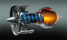 Jet engine. Engineering amazing. Yea we forge the main shaft in our 65 !!!!! That good A8m holla