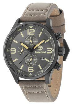 4fd258ecdd4 Timberland horloge Rutherford staal leder 48 mm 15266JSB 79