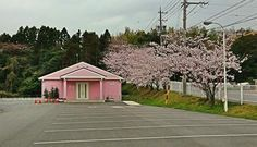 Kingdom Hall Japan.... Ooh i need to see this!! It's pink!!
