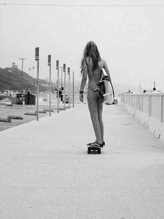 Skate, surf, repeat. California girls
