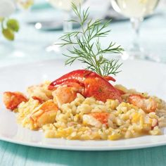 Risotto au homard et poireau - Recettes - Cuisine et nutrition - Pratico Pratiques