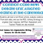 This Common Core unit centers around a Non Fiction article about assigned seating in the cafeteria. It includes several different activities, inclu...