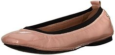 Delman Womens Maxie Ballet Flat Petal Crinkle Patent 8 M US * You can find out more details at the link of the image. Note:It is Affiliate Link to Amazon.
