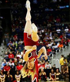 . Nc State University, College Cheer, School Spirit, Cheerleading, Sumo, Disney Characters, Fictional Characters, Wrestling, Disney Princess