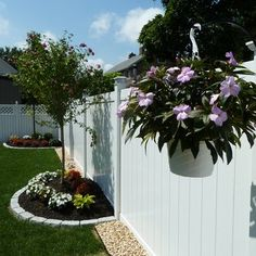 trendy Ideas for backyard landscaping along fence lawn
