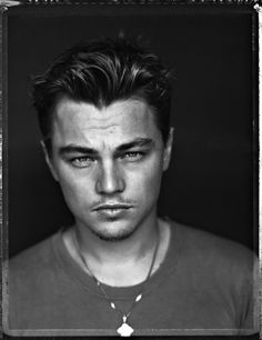 Leonardo DiCaprio (1974) - American actor and film producer. Photo © Patrick Demarchelier, 1999
