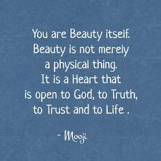 The wisdom of Mooji - You are Beauty itself