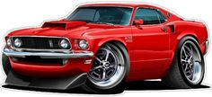 1969 FORD MUSTANG BOSS 429 vinyl decal wall graphic officially licensed product custom art easy installation on walls, windows, man cave Ford Mustang Boss, Mustang 1969, Mustang Cars, Ford Shelby, Shelby Gt500, Chevy, Cool Car Drawings, Hot Rods, Ford Classic Cars
