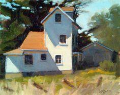 """afternoon shadows"" - Original Fine Art for Sale - © Dan Graziano"