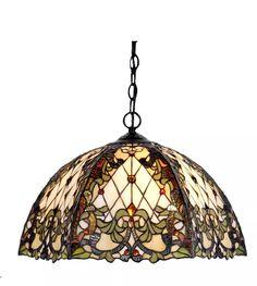 Lámpara De Techo Colgante Tiffany Nerida - $ 5.270,00 en Mercado Libre