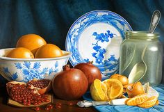 Oranges & Pomegranates~ the beautiful art of  Horacio Cardozo on Fine Art America. ~ Prints starting @ $24.