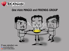 Ek Khushi One plate MAGGI and FRIENDS GROUP