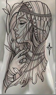 31 new ideas for womens face tattoo lines - 31 new ideas for womens face tattoo . - 31 new ideas for womens face tattoo lines – 31 new ideas for womens face tattoo lines - Neo Tattoo, Tattoo Line, Back Tattoo, Traditional Tattoo Woman, Traditional Tattoo Design, Stencils Tatuagem, Tattoo Stencils, Tattoo Sketches, Tattoo Drawings