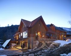 "There's some interesting history to this net-zero energy home in Lenado, Colorado.  Apparently, a ""cranky, gun-totting squatter named Jack Hogue, or ""Lumber Jack,"" built a cabin and bathhouse near the top of Woody Creek and took title by adverse possession in the 1990s, after 17 years.  Branden Cohen and Deva Shantay of True Nature Healing Arts bought the place from Lumber Jack and improved it, but at 8,650 feet in elevation, it turns out they ..."