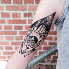 Geometric Tattoos by Jessica Svartvit