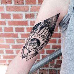 Geometric Tattoos by Jessica Svartvit