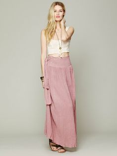 Free People Spinner Maxi Skirt, $89.95
