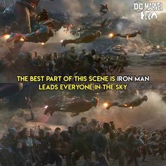 Steve and Tony were co-leaders of the Avengers so it's only right that he leads the air assault in his final battle 😭😭😭 Funny Marvel Memes, Marvel Jokes, Dc Memes, Avengers Memes, Marvel Avengers, Marvel Dc Comics, Marvel Heroes, Disney Marvel, Iron Man