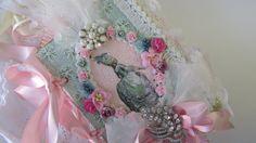Marie Antoinette Shabby Wedding Book Lace by underthenightmoon