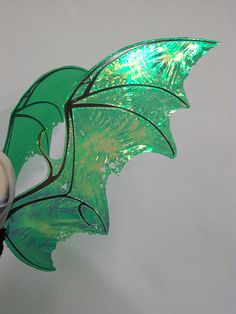 Iridescent green bat wings / dragon wings with black veins. Please note my wing photos are NOT stock - you must ask permission to us. Draconia Bat or Dragon Wings Diy Wings, Angel Aesthetic, Costume Patterns, Costume Ideas, Fantasy Costumes, Faeries, Renaissance, Overlays, Fairy Tales